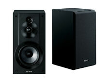 New SONY SS-CS5 Black 3 Way Speaker System Audio (Pair) Bookshelf Hi-Res Japan