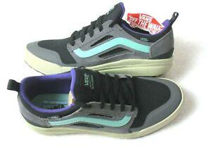Vans Men's Ultrarange 3D Skate shoes Pewter Grey Eucalyptus Purple Size 9.5 NWT