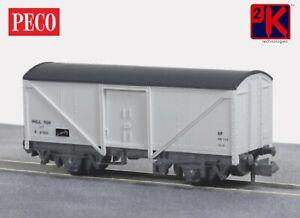 Peco NR-6B Fish Van, White Livery 'N' Gauge T48