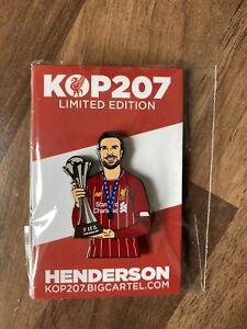 Liverpool FC Jordan Henderson Limited Edition Kop207 Pin Badge not Kopbadges