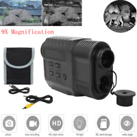 3.5-9x21 Zoom Infrared Digital Night Vision Monocular Tactical Outdoor Hunting