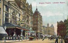 LONDON Empire Theatre Leicester Square 1907 Original Postcard (120L)