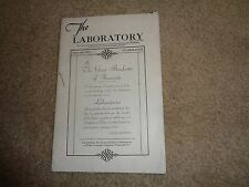 Fisher Scientific Company Laboratory Magazine Vol. II No. 4 Instruments