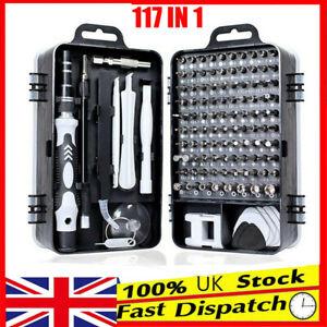 117 in 1 Magnetic Precision Screwdriver Set Computer Pc Phone Repair Tool Kit UK