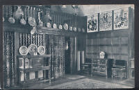 Worcestershire Postcard - The Great Hall, Lygon Arms, Broadway  RS11761