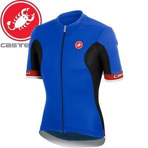 Castelli Volata Fz Men's Cycling Jersey - Blue