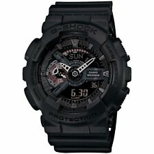 Casio G-shock Analog-digital 200m Red Accent Black Resin Watch Ga110mb-1a