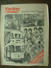 VINTAGE NEWSPAPER SHEFFIELD STAR CENTENARY OCTOBER 1987 PART 10 - 1960-1969