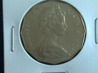 AUSTRALIAN 50 CENT 1977 - CIRCULATED