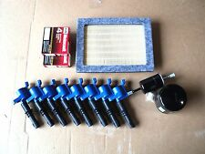 TUNE UP KIT 8+BLUE COILS REF#DG511 8+PLUGS SP515/SP546 OIL,AIR,GAS FILTER NEW