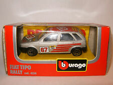 BURAGO 1/43 FIAT TIPO RALLY N° 67 Boite 4134 Made in Italy