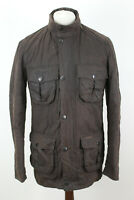 BARBOUR Corbridge Brown Wax Jacket size M