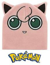 Berretta Pokemon Jigglypuff Beanie with Ears Winter Hat ufficiale Bioworld