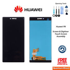 NEW Huawei P8 Replacement LCD Touch Screen Digitiser Assembly w/Tools BLACK