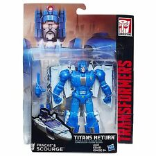 TRANSFORMERS GENERATIONS TITANS RETURN DELUXE CLASS SCOURGE ACTION FIGURE