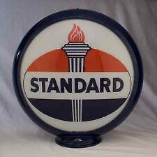 Standard Oil Gas Pump Globe Cabin Lodge Man Cave Gas Station Garage Shop Decor