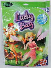 LARGE TOON STUDIO FAIRIES PARTY LOOT LUCKY BAG KIDS FUN STICKERS GLOW BRACELET