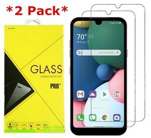 2X Tempered Glass Screen Protector LG Aristo/Phoenix 5/Tribute Monarch/Fortune 3
