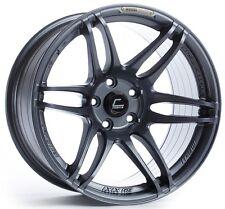 Cosmis Racing MRII 18x8.5 5x108mm +22 Gun Metal Rims Aggressive Fits Focus Volvo