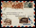 1955+FRENCH+EQUATORIAL+AFRICA+FORT+LAMY+REGISTERED+AIRMAIL+TO+USA