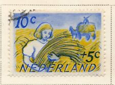 Netherlands 1948-49 Early Issue Fine Used 10c. NW-11733