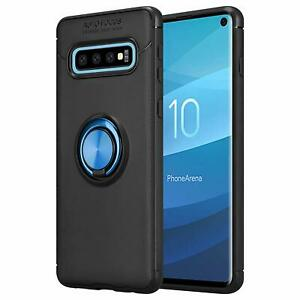 For Samsung Galaxy S10 Note 10 Ring Case Holder Antiscratch TPU Cover Kickstand