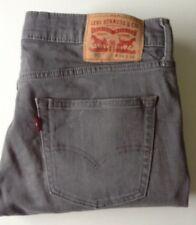 Levi's 511 Jeans Slim Fit Stretch Taglia 34 x 29 Mark & difetto vedi descrizione