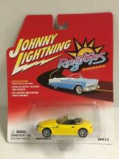 Johnny Lightning 1:64 Die cast Ragtops BMW Z-3 Convertible in Yellow