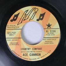 Rock Promo 45 Ace Cannon - Country Comfort / Closin Time'S A Downer On Hi Record