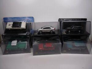 KAS18 LOT de 6 véhicules CHEVROLET 1/43 Collection cassés broken model rotos