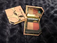 2 TOO FACED Tutti Frutti Blush Duo in APRICOT IN THE ACT Travel Size New