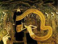 JAN TOOROP FATALISM OLD MASTER ART PAINTING PRINT POSTER REPRODUCTION 1527OM