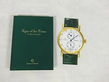 Times Tick-Talk A Timely Book Signed Chronoswiss Watch book Signs of the