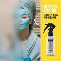 Hendlex Anti Fog Waterproof Spray For Fogless Shower Mirror Shower Glass 100ml