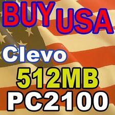 512MB Clevo PortaNote D400P D400S D410E MEMORY RAM
