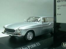 WOW EXTREMELY RARE Volvo P1800 ES Break 1971 Silver 1:43 Minichamps-121/240/850