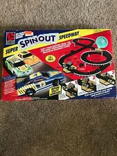 Life-Like Super Spinout Speedway Slot Car Track Set New Unoppened.
