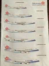 China Airlines Airplanes Fleet Magnets Very Rare Collectible New