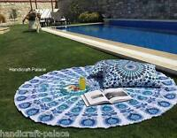Indian Hippie Mandala Round Beach Picnic Throw Tapestry Wall Hanging Yoga Mat