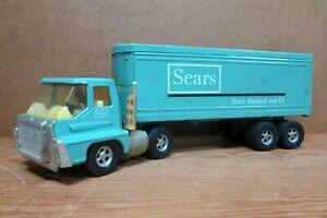 SEARS, ROEBUCK TRACTOR TRAILER by ERTL, c. 1970s, Futuristic International Cab