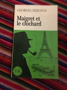 GEORGES SIMENON - MAIGRET ET LE CLOCHARD - ( LINGUA FRANCESE ) ER