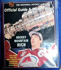 NHL OFFICIAL GUIDE AND RECORD  BOOK  1996/97 COLORADO AVALANCHE STANLEY CUP