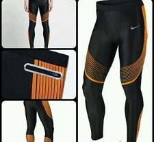 Nike Power Speed Tights Compression [717750 017] Size Small RRP £105 Orange