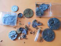 Vintage WALTHAM Mechanical Watch Movements & Parts Lot# Q68