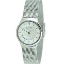 Skagen Damen Uhr Armbanduhr Slimline Edelstahl 233XSSS
