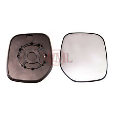 PEUGEOT PARTNER 1996->2007 DOOR MIRROR GLASS SILVER,NON HEATED & BASE,RIGHT SIDE