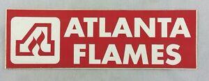 NHL 1970's Atlanta Flames Bumper Sticker