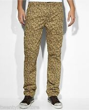 NWT Levis Jeans Slim Straight Cargo I Pixel Harvest Khaki Camo Camouflage 33 L