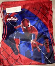 Good Quantity Boys Girls Disney Spiderman Olaf Pump PE Sport  Drawstring Bag