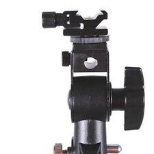 Swivel Flash Bracket Hot Shoe Adapter Holder Speedlite DSLR Light Stand Mount